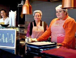 Cocina, Pabellón el Amor de Chile